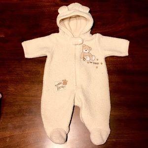 Carters newborn Sherpa Hooded Bunting